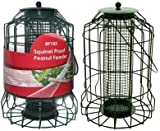 LARGE SQUIRREL PROOF PEANUT FEEDER GARDEN SAFE BIRD PEANUT FEEDING STATION BF102