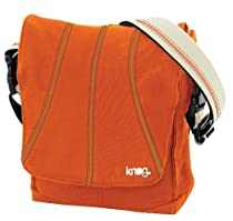 Knog Dog Handlebar Bag, Orange/Cream