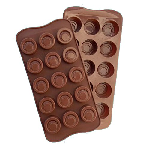 Round Shape Bakeware Silicone Cake Mold Ice Cream Chocolate Molds Soap Silicone Molds 3D Cupcake Baking Dish Pan