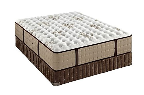Stearns and Foster Scarborough Luxury Firm Euro Pillowtop King Mattress and Box