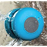 Chaîne Stéréo Bluetooth Mains Libre à l'épreuve de l'eau pour Douche Salle de Bain Voiture compatible avec Samsung S3 S4 S6310N I8190 i9500 i9300 S5830i Note 2 iPad 3 iPhone 4S 5C 5S Samsung HTC IP91