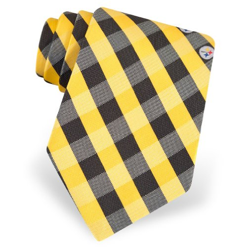 Yellow Polyester Tie | NFL Pittsburgh Steelers Polyester Tie