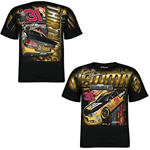 Ryan Newman NASCAR #31 Caterpillar Total Print Shirt - 2014 by Chase Authentics