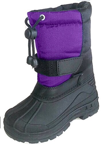 2817 Purple Childrens Snow Boot - 2 M US Big Kid