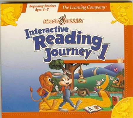Reader Rabbit's Interactive Reading Journey 1: Beginning Readers, Ages 4-7