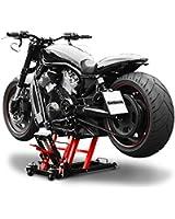 Bequille d'Atelier Cric Moto Hydraulique Lift ConStands L noir-rouge