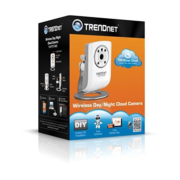 Trendnet-TV-IP751WIC-Camra-Cloud-Jour-Nuit-sans-Fil
