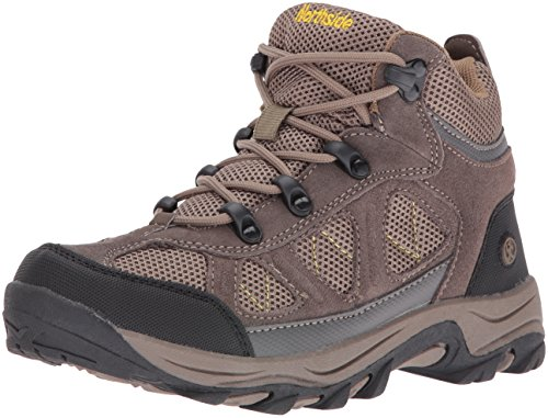 Northside Caldera Junior Hiking Boot (Little Kid), Stone/Yellow, 7 M US Big Kid