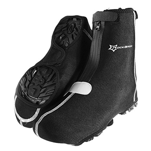 RockBros Cycling Bike Shoe Cover Warm Cover Protector Overshoes Black (Bike Shoe Covers compare prices)