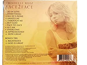 Face2face Best Inpirational Contemporary Christian Audio CD Praise & Worship Songs By Trishelle Ruiz, Full of Grace