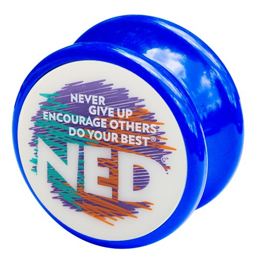NED® Yo-Yo (Blue) Glow-in-the-dark face - 1