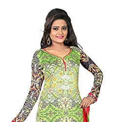 7 Colors Lifestyle Multi Coloured Digital Printed Pure Satin Unstitched Dress Material(Free Size_Multi)