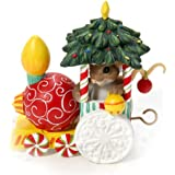 Enesco Charming Tails a Friendly Ride on The Ornament Express Figurine, 4-1/4-Inch