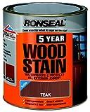 Ronseal 5YWT750 750ml 5 Year Woodstain - Teak