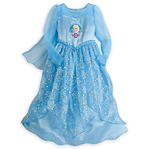 Disney - Elsa Satin Nightgown for Girls - Frozen - Size 4 - New with Tags