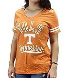 University Tees Women' s Tennessee Vols Volunteers V Neck T-Shirt
