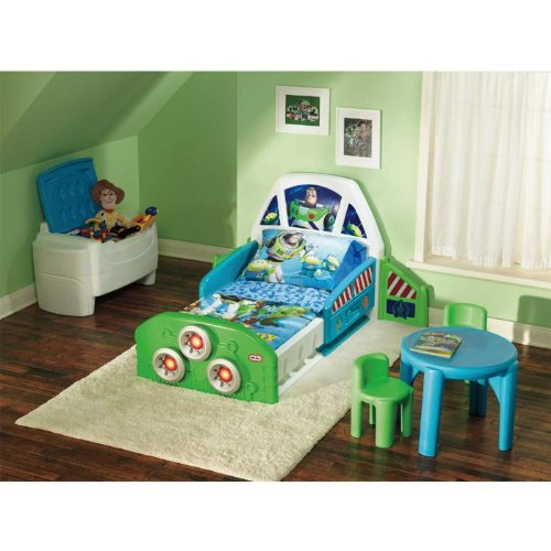 Buy Cheap Little Tikes Buzz Lightyear Toddler Bed