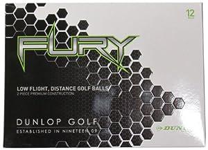 Dunlop Fury Golf Balls, Pack of 12 by Dunlop