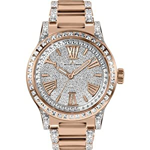 Jacques Lemans Porto Wristwatch for women With Swarovski crystals
