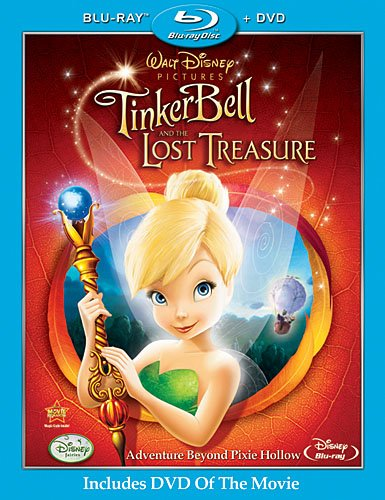 Феи: Потерянное сокровище / Tinker Bell and the Lost Treasure (2009/BDRip)