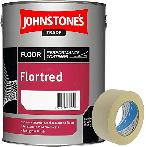 johnstones-flortred-floor-paint-safety-yellow-5l-2-inch-masking-tape-included
