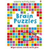 Brain Puzzles (Puzzle Cards)by Sarah Khan