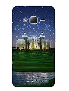 Case Cover Printed Multicolor Hard Back Cover For Samsung Z1