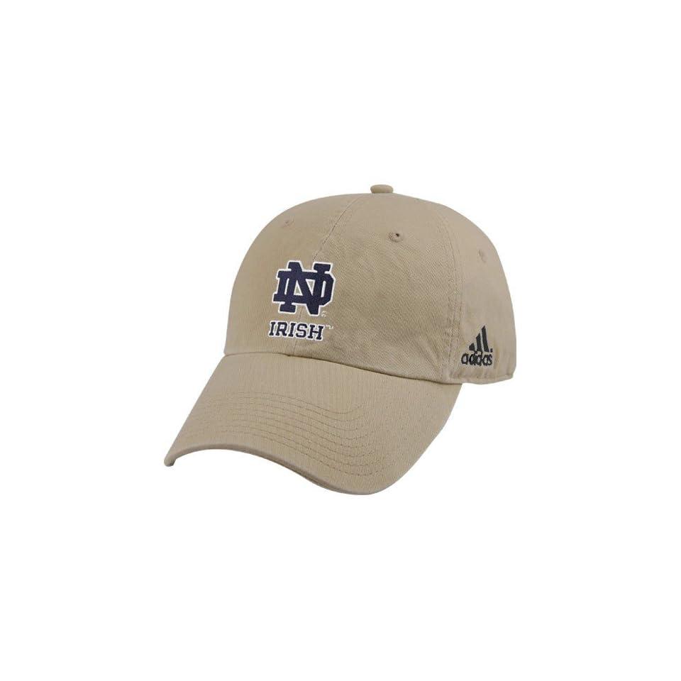 Adidas Notre Dame Fighting Irish Khaki Achiever Hat
