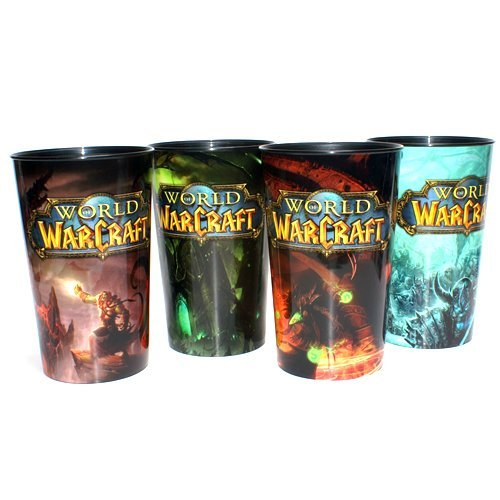 Limited Edition World of Warcraft Cups Set of 4 - 1