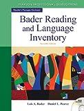Bader Reading & Language Inventory (7th Edition)