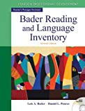 img - for Bader Reading & Language Inventory (7th Edition) book / textbook / text book
