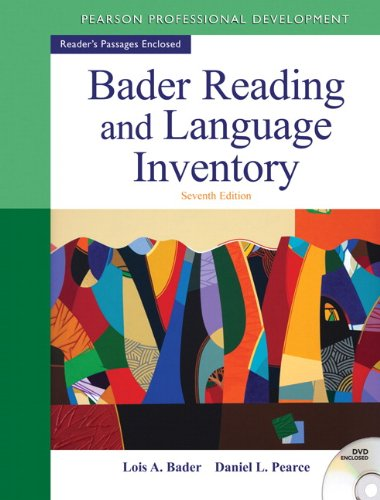 Bader Reading & Language Inventory (7th Edition)