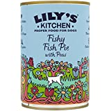 Lily's Kitchen Fishy Fish Pie with Peas Complete Wet Food for Dogs 400g (Pack of 6)