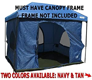 Standing Room 100 hanging Family Cabin Camping Tent by Standing Room Tent Supply