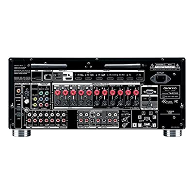 Onkyo Audio & Video Component Receiver, Black (TX-RZ810) from ONKYO