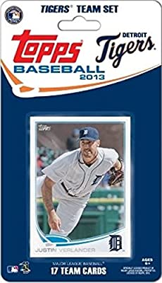 2013 Topps Detroit Tigers Factory Sealed Special Edition 17 Card Team Set