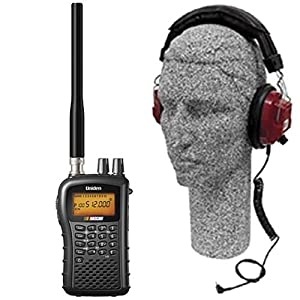 Uniden Bc-72Xlt Nascar Scanner And Headset Combo Pack
