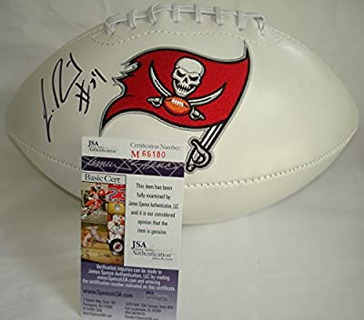 Lavonte David Hand Signed / Autographed Tampa Bay Buccaneers/Bucs Logo Footba...