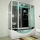 TroniTechnik Dampfdusche Duschtempel Whirlpool Badewanne...