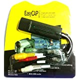 Eclipse Easycap DC60+ / DC-60+ Version 3.2A USB Grabber Video Capture for XBOX 360 / Game Players / DVD / VHS / Camcorder / Video Camera Compatible Windows 7 / Vista 64 bit / XPby The Eclipse