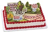 Rock on Down the Road Cake Topper Set