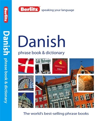 Foreign Language Fiction: Berlitz Danish Phrase Book And Dictionary Media Books Non