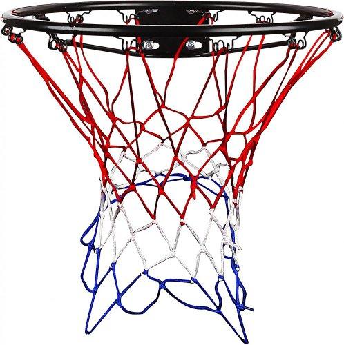 Sport 2000 Basketballkorb mit Netz rot-weiss hier kaufen