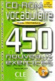echange, troc Collective, Sirejols - Vocabulaire 450 Exercises CD-ROM (Intermediate)