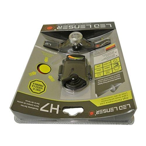 Great Value Headlamps Lenser H7 Led Headlight Black