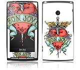 Music Skins Sony Ericsson Xperia 用フィルム  Bon Jovi - Heart & Dagger  Sony Ericsson Xperia   MSXPERIA0223