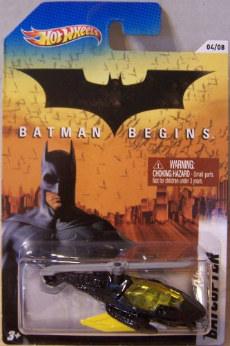 Hot Wheels 2012 Batman Series #4 of 8 Batman Begins BATCOPTER 1:64 Scale - 1