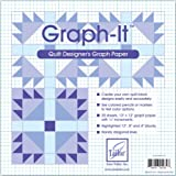 June Tailor Paper Graph It Graph Paper 12 Inch x 12 Inch