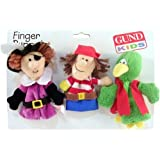 Gund Ahoy Matey Pirates Finger Puppets Set Of 3