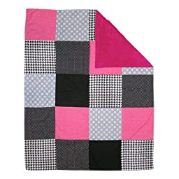 Trend Lab Multi-Patched Receiving Blanket, Serena